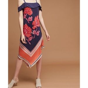 Anthropologie Moulinette Soeurs Silk Tilda Dress